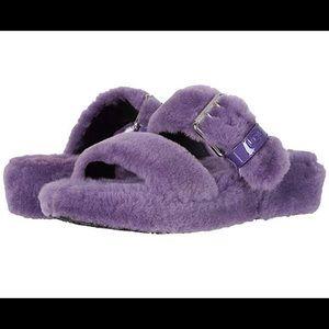 UGG Slippers purple NWOT
